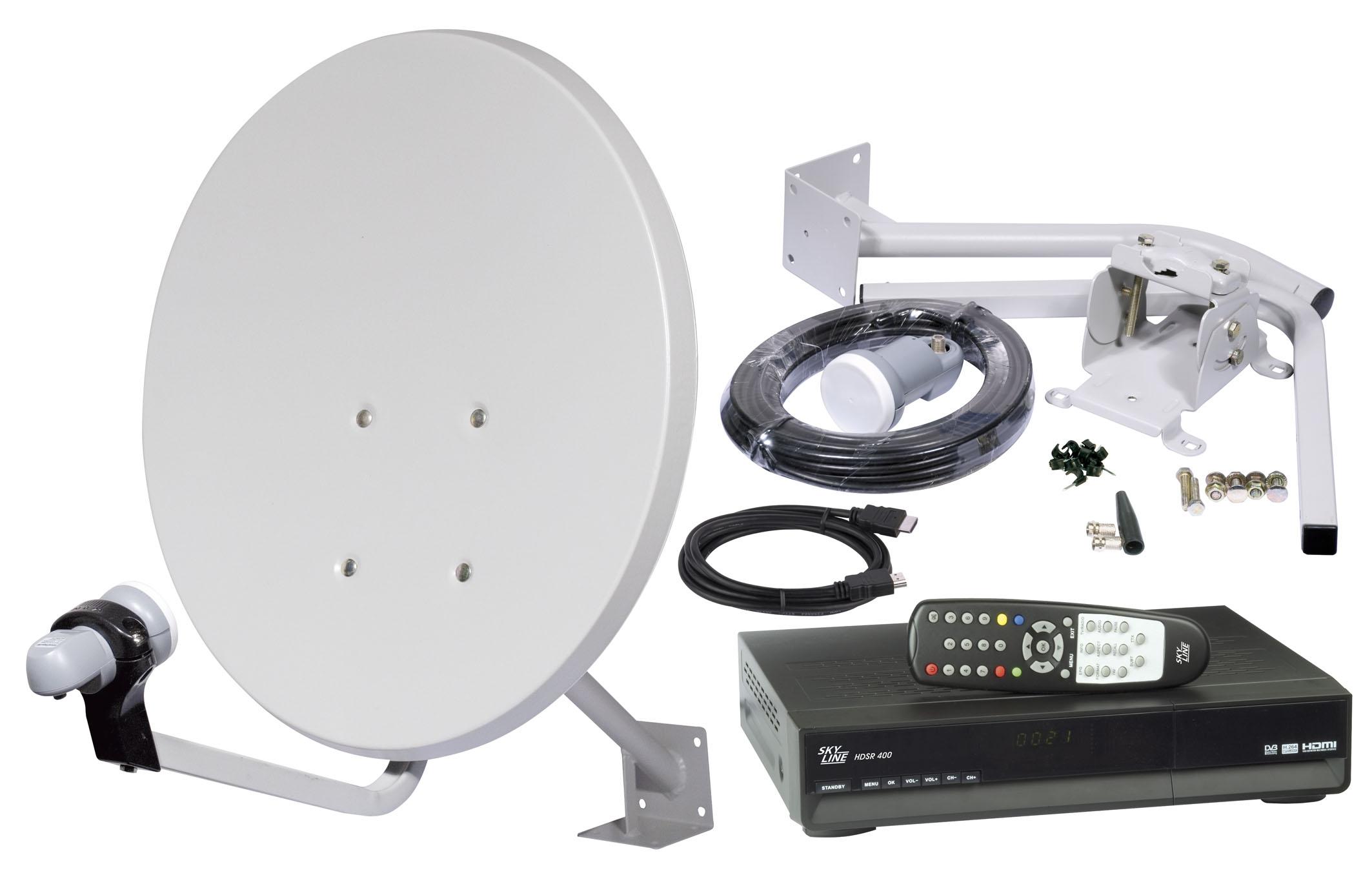 Спутниковое телевидение своими руками фото