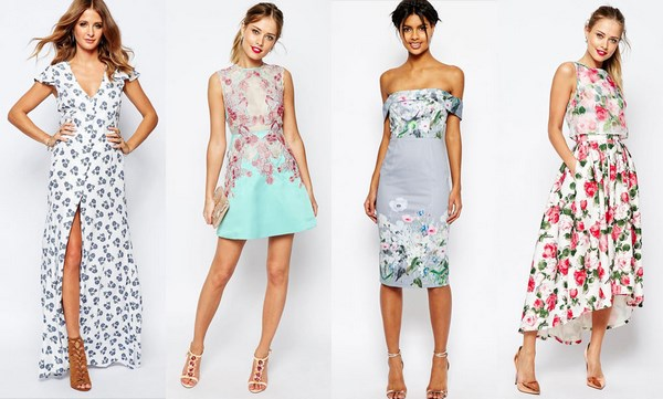 Фасоны платье на лето