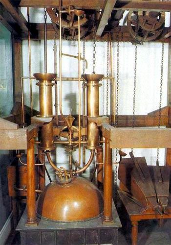 Макет паровой машины И.И. Ползунова - Краведческий музей Барнаула