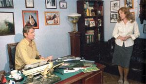 Ирина Алферова, Александр Абдулов в телесериале Капкан