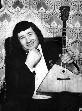 Владимир Бакитко, балалаечник