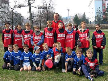 Евгений Барило, тренер СДЮШОР по футболу Алексея Смертина