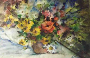 Летние цветы. 1996. Белышев Геннадий