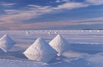 Боливия Урожай соли