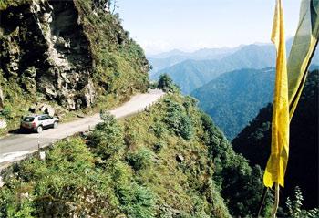 Бутан. Дорога
