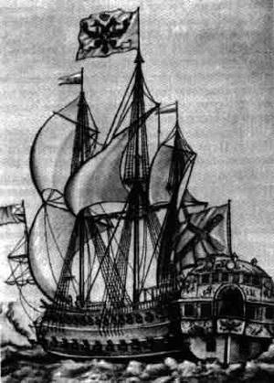 Линейный корабль Балтийского флота Полтава
