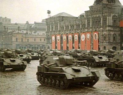 Парад Победы. Москва, 24 июня 1945