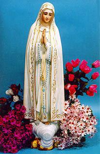 Статуя Божьей Матери Фатимской