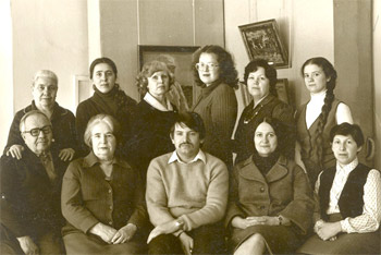 Коллектив АМИИ.1983 г.