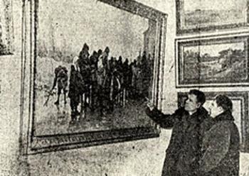 Открытие АМИИ. Выставка из ГТГ
