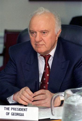 Второй президент Грузии - Эдуард Шеварднадзе