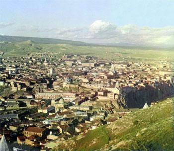 Вид Тбилиси в начале 1900-х
