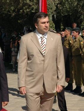 Михаил Саакашвили, четвертый президент Грузии