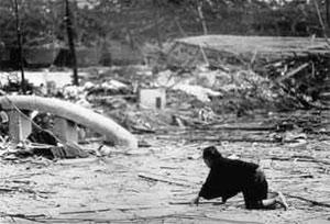 Фотографии из Хиросимы и Нагасаки снятые на второй день после взрыва