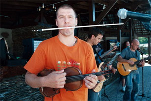 Каменных Петр, музыкант (группа Другие дяди), президент буддистского центра Барнаула
