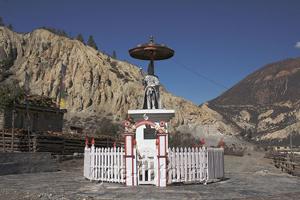 Скульптура короля Непала