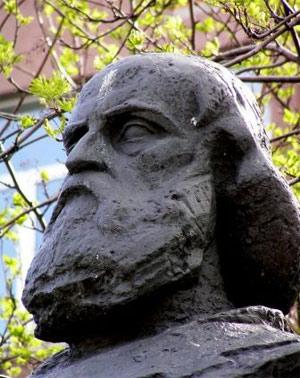 Мефодий. фрагмент памятника Кириллу и Мефодию в Мурманске