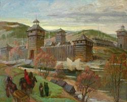 Барнаульская заводская крепость. 2001. Владимир Коньков