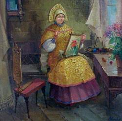 Рукодельница. 2005. Владимир Коньков