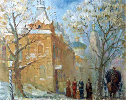 Красный магазин. 1997. Коньков Владимир