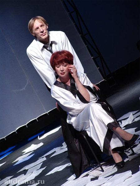 Махов Виталий в роли Амилькара в спектакле Месье Амилькар или Человек, который платит