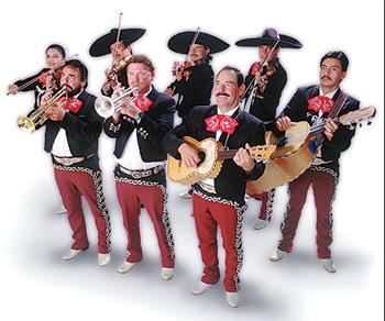 мексиканские музыканты – марьячи