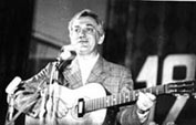 Вильям Озолин на Дне поэзии НЭТИ, Новосибирск, 1977 г.
