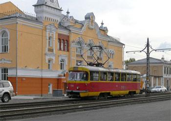 трамвай в Барнауле