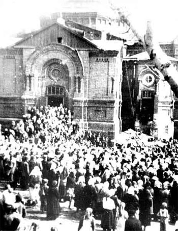 Покровский собор, Барнаул. Владимир Голосов. Фото 1950 г.