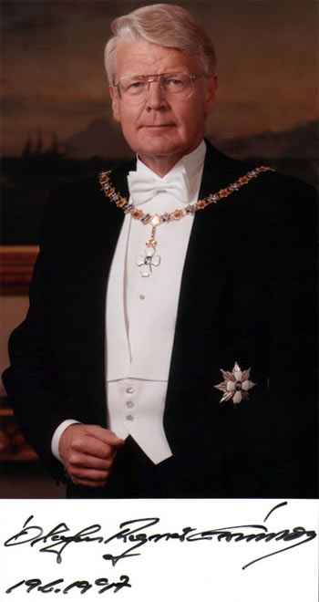 Олавур Рагнар Гримссон, президент Исландии