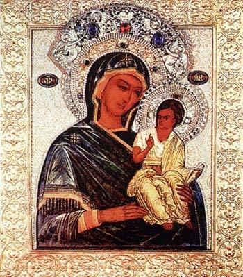 Чирская (Псковская) икона Божией Матери