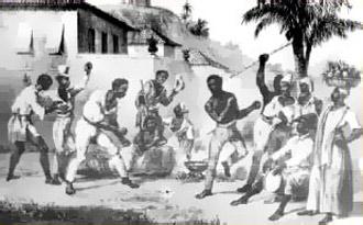 Бразильские рабы. Капоэйра
