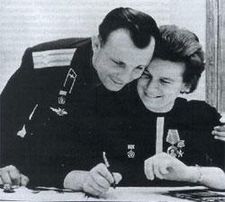 Юрий Гагарин, Валентина Терешкова