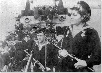Десант моряков тихоокеанского флота 1945