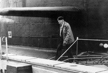 А П Александров на подводной лодке Тихоокеанский флот 1980 г