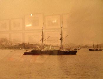 Тихоокеанский Владивостокский военный флот 1880 е 1891 гг Фотограф Апостоли