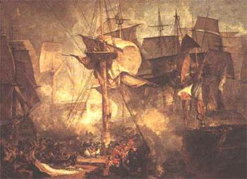 Жозеф Маллорд Уильям Тюрнер, Трафальгарское сражение (1806)