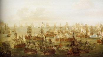 Трафальгарское сражение, ситуация в 17:00