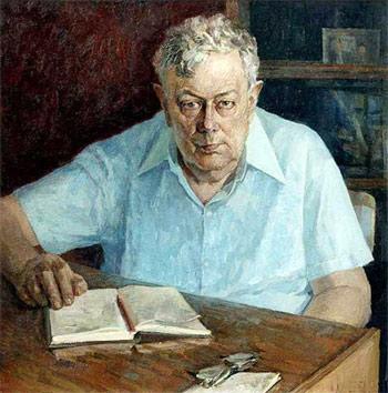 Портрет поэта Марка Юдалевича работы Ивана Мамонтова