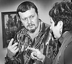 Евгений Югаткин, художник, Барнаул
