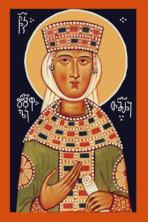 Тамароба - день поминовения Святой благоверной царицы Тамар (Грузия)
