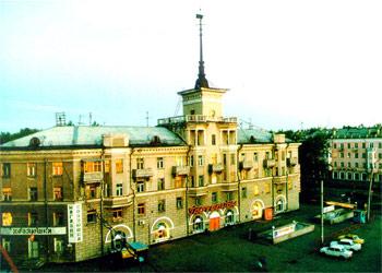 Площадь Октября, г. Барнаул (Железнодорожный район)