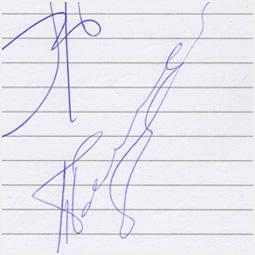 Автограф участников дуэта Непара