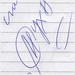 Автограф Маргариты Суханкиной Барнаульскому городскому порталу