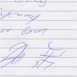 Автограф Эдмунда Шклярского и Марата Корчемного Барнаульскому городскому порталу