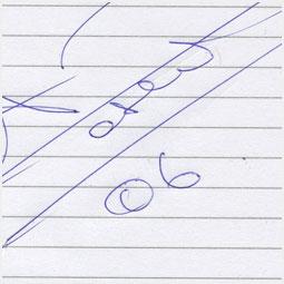 Автограф Александра Розенбаума Барнаульскому городскому порталу