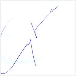 Автограф Светланы Сургановой Барнаульскому городскому порталу