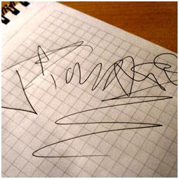 Автограф Тимати Барнаульскому городскому порталу