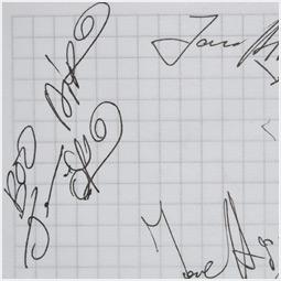 Автограф группы «Ария» Барнаульскому городскому порталу