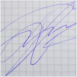 Автограф Петра Дранги Барнаульскому городскому порталу